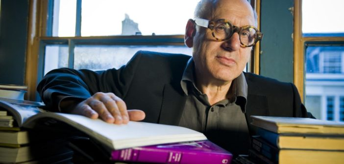 MICHAEL NYMAN at his home in Islington