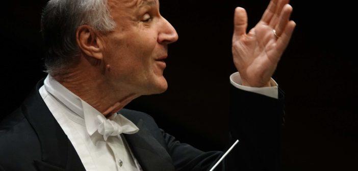 PRESSPHOTO Firenze Teatro del Maggio Musicale Fiorentino, il maestro Oleg Caetani dirige l'orchestra del MMF    foto Gianluca Moggi/New Press Photo