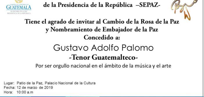 INVITACIÓN CAMBIO DE LA ROSA