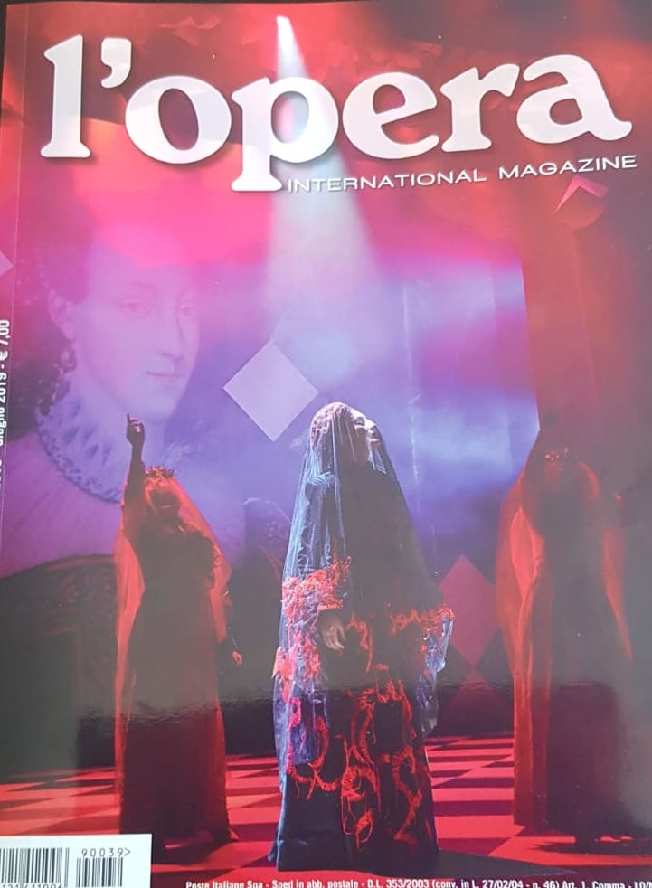 l'opera international magazine June 2019